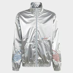Adidas Originals Men's Silver Metallic ADICOLOR TR